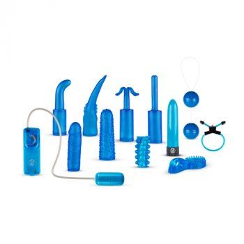 Vibrator Set - Blauw