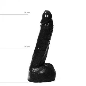 Realistische Dildo 21 cm - Zwart